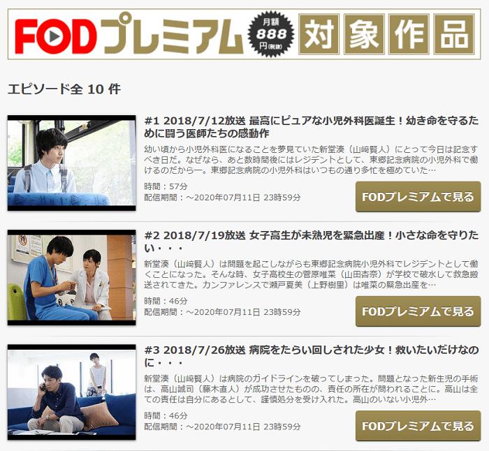 FODのグッドドクター②